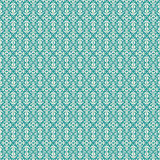 Aqua Vintage Fleur De Lis style flourish pattern Stock Photos
