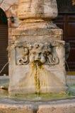 Aqua Virgo gammal barock springbrunn i Rome Royaltyfri Fotografi