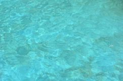 Aqua-Wasser-Beschaffenheit Stockfotografie