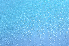 Aqua water drop for background use. Royalty Free Stock Images