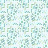 Aqua Water Falling Vector azul y verde stock de ilustración