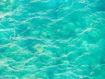 Aqua Water Texture fotografia stock