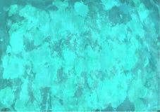 Aqua watercolor background. Handpainted aqua blue-green watercolor backgrounds for your design vector illustration