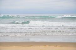 Aqua Waves Royalty Free Stock Images