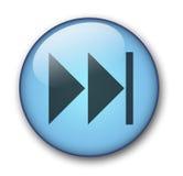 Aqua web button. Aqua button last - web button - website design Stock Illustration