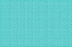 Aqua and White Basket Weave Background. Repeated braiding of horizontal and vertical stripes creates a 3-D basket weave pattern in aqua on white background Stock Illustration