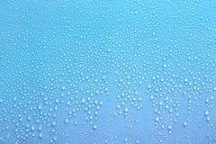 Aqua wody kropla dla tła use Obrazy Royalty Free