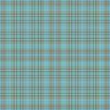 Aqua y tela escocesa inconsútiles de Brown stock de ilustración