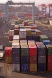aquaba ruchliwie zbiornika port Fotografia Stock