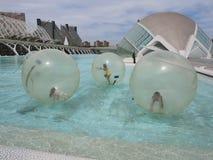 Aquaball Στοκ φωτογραφίες με δικαίωμα ελεύθερης χρήσης