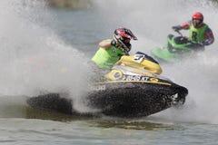 aquabike πρωτάθλημα Στοκ Εικόνα