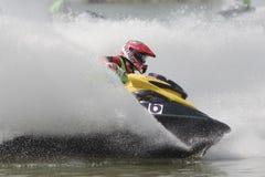aquabike πρωτάθλημα Στοκ Φωτογραφία