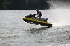 Aquabike Στοκ φωτογραφίες με δικαίωμα ελεύθερης χρήσης