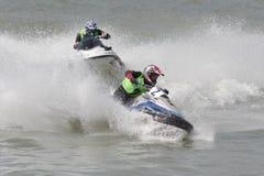 Aquabike championship. Stock Image