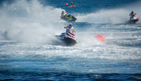 Aquabike world championship 2012 - runbout gp1 Stock Image