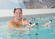 Aquabiking Στοκ Εικόνες