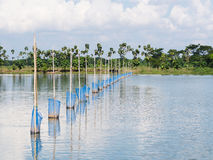 Aquaculture in Myanmar Stock Photography