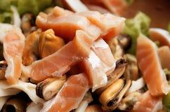 Aquaculture salad Stock Images