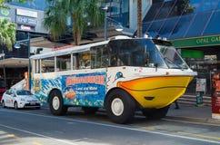 Aquaduck turist- medel på Goldet Coast i Queensland Arkivfoto