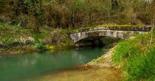Aquaduct Άγιος-Nazaire-EN-Royans στο auvergne-RhÃ'ne-Alpes Στοκ Εικόνα