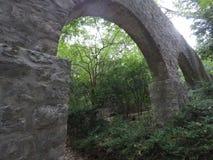 Aquaduct σε Trstena, Κροατία Στοκ φωτογραφία με δικαίωμα ελεύθερης χρήσης
