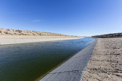 Aquaduct in de Provincie Californië van Los Angeles royalty-vrije stock fotografie