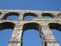 Aquaduct em Segovia Fotografia de Stock