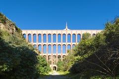 Aquaduct in Nerja Spanje Royalty-vrije Stock Fotografie