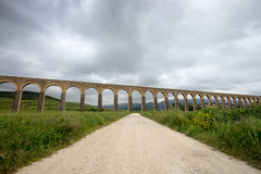 Aquaduct Spanien Stockfotos