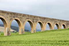 Aquaduct Spanien Lizenzfreie Stockfotografie