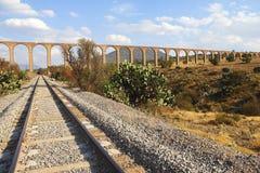 Aquaduct van Aalmoezenier Tembleque III royalty-vrije stock fotografie