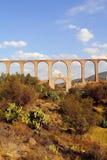 Aquaduct van Aalmoezenier Tembleque VII stock afbeeldingen