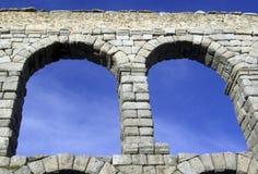 Aquaductbrug van Segovia Spanje Stock Foto's