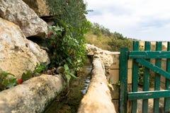 Aquaducts στην κοιλάδα Lunzjata Στοκ Εικόνα