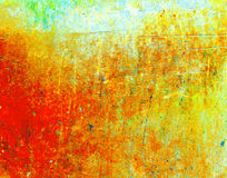 Aquafarbzusammenfassungsstein Lizenzfreie Stockfotografie