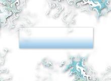 Aquahintergrund stock abbildung
