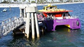 Aqualink ll - η φορτηγίδα Στοκ Εικόνες