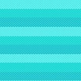 Aquamarine background Turquoise seamless striped pattern Vector marine. Dotted patterns Stock Image