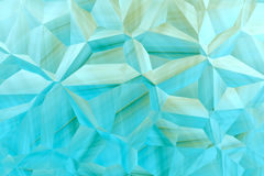 Aquamarine 3D abstract  background Stock Photos