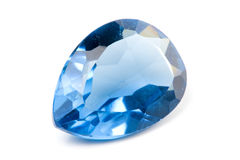 Aquamarine Gem Royalty Free Stock Photos