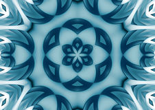 Blue geometric background Stock Image