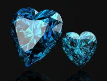 Aquamarine. (high resolution 3D image Stock Photos