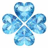 Aquamarine. (high resolution 3D image Stock Photography