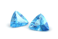 Aquamarine. (high resolution 3D image royalty free stock images