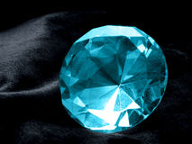 Aquamarine Jewel Royalty Free Stock Photography