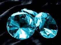 Aquamarine-Juwelen Lizenzfreies Stockbild