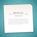 Aquamarine Medical Background Stock Photos
