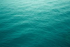 Aquamarine ripples in atlantic ocean stock photography