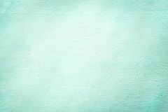 Aquamarine rough plaster background texture Stock Photography