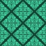 Aquamarine seamless Wallpaper. Stock Image